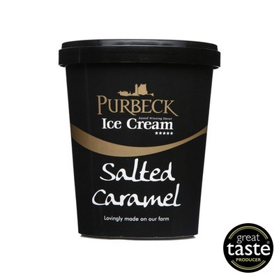 Purbeck Salted Caramel 500ml